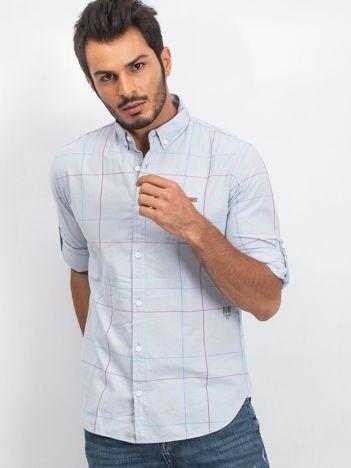 Jasnoniebieska koszula męska Sauvage