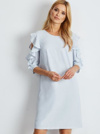 Jasnoniebieska sukienka Brilliance