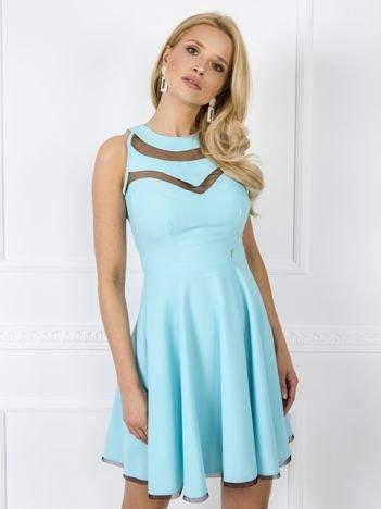 Jasnoniebieska sukienka Evelyn
