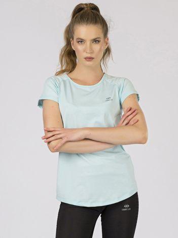 Jasnoniebieski damski t-shirt TOMMY LIFE
