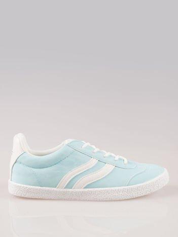 Jasnoniebieskie buty sportowe w stylu casual Kash