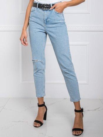 Jasnoniebieskie jeansy Cassidy RUE PARIS