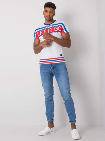 Jasnoniebieskie jeansy męskie regular fit Rylan