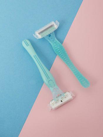 Jasnoniebieskie maszynki do golenia 2-pak