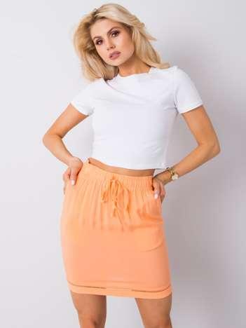Jasnopomarańczowa spódnica Raquel SUBLEVEL