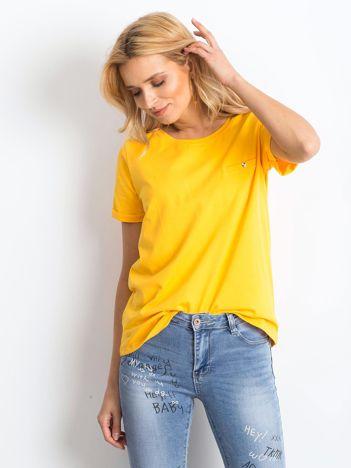 Jasnopomarańczowy t-shirt Transformative