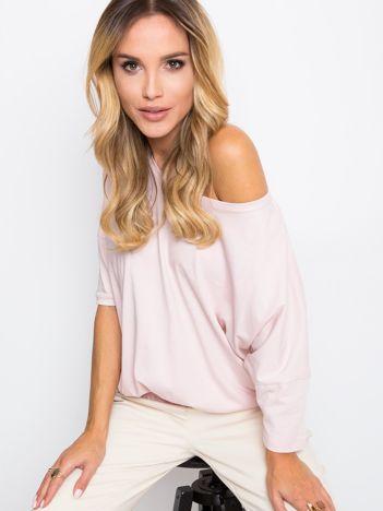 Jasnoróżowa bluzka Brittany