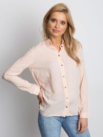 Jasnoróżowa lekka koszula