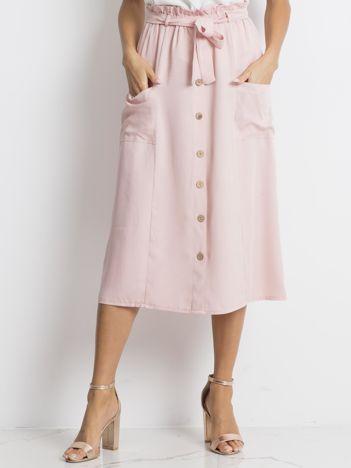 Jasnoróżowa spódnica Newfound