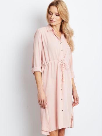 Jasnoróżowa sukienka Ambrosia