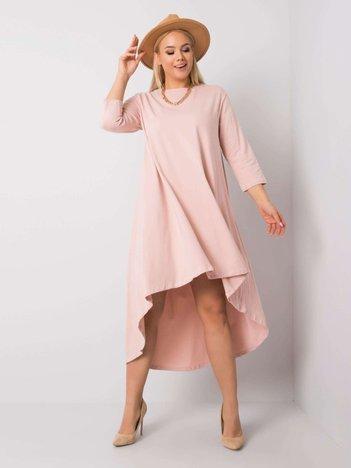 Jasnoróżowa sukienka Dulce