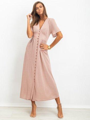 Jasnoróżowa sukienka Izzie