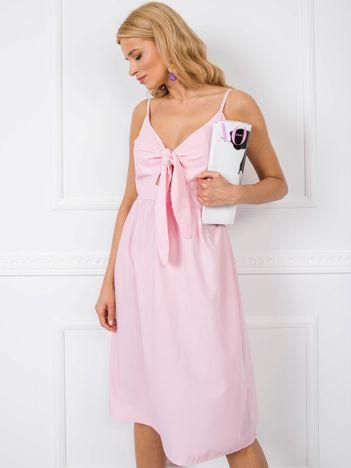 Jasnoróżowa sukienka Julianna RUE PARIS