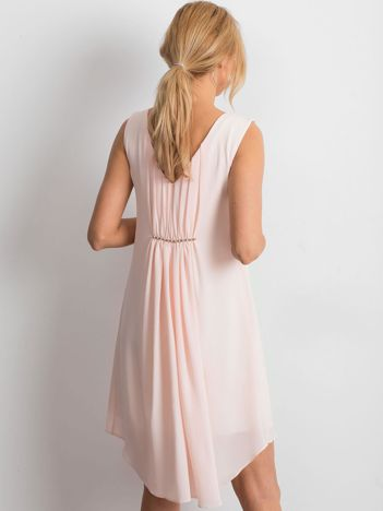 Jasnoróżowa sukienka Starlight
