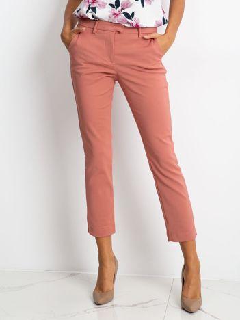 Jasnoróżowe spodnie Classy