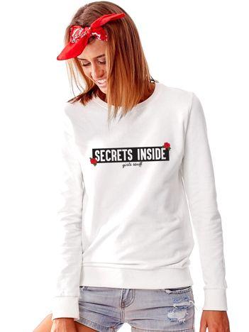 Jasnoszara bluza SECRETS INSIDE