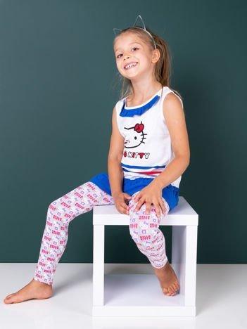Jasnoszare legginsy dla dziewczynki HELLO KITTY