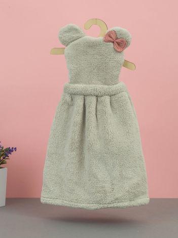 Jasnoszary ręcznik do rąk