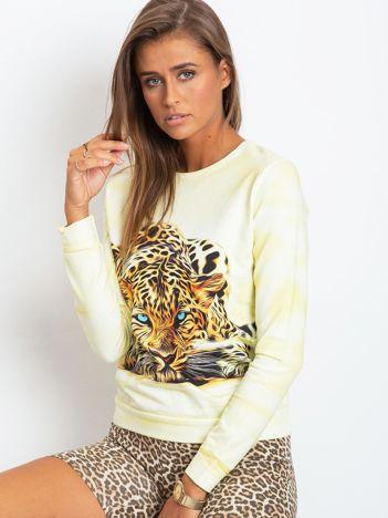 Jasnożółta bluza Wild