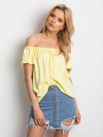 Jasnożółta bluzka Mirage