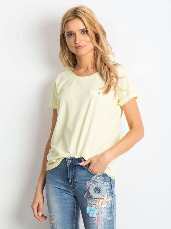Jasnożółty t-shirt Transformative
