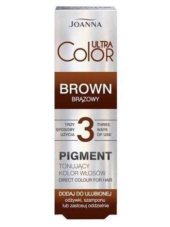 Joana ULTRA Color Pigment tonujący brązowy 100 ml