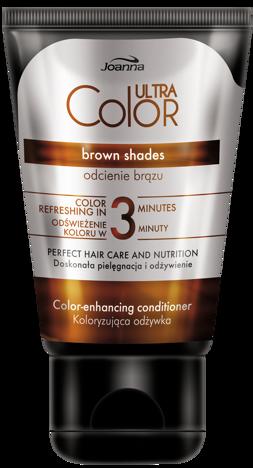 Joanna ULTRA Color SYSTEM Odżywka koloryzująca odcienie brązu 100g
