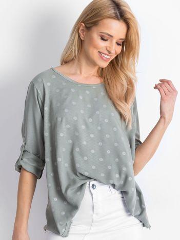 Khaki bluzka Designer