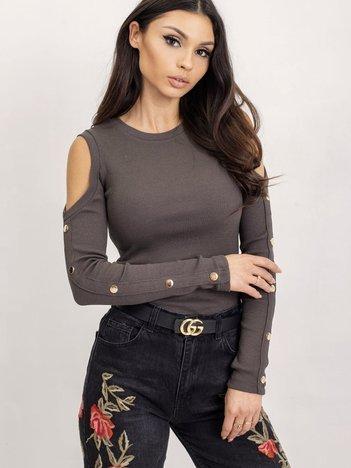 Khaki bluzka Nadia