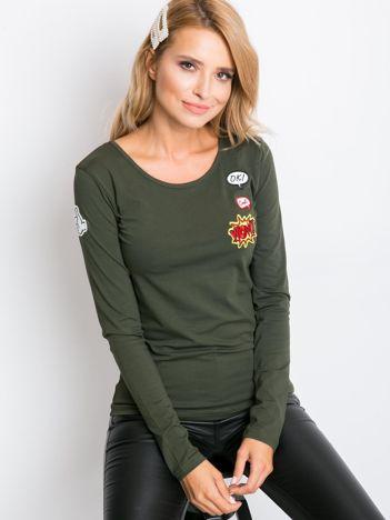 Khaki bluzka Tivoli