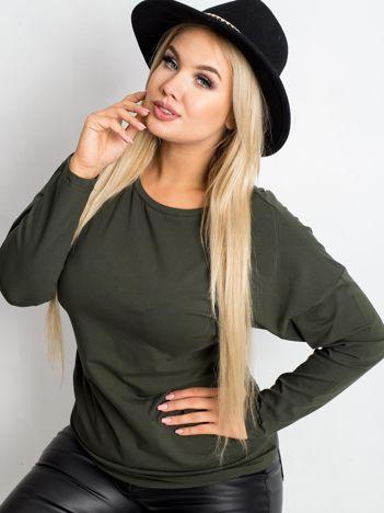 Khaki bluzka plus size Clear