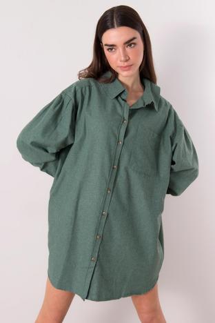 Khaki koszula oversize BSL