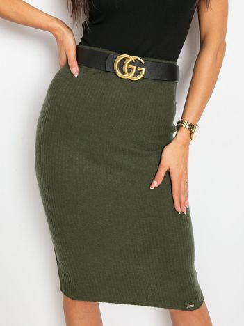 Khaki spódnica Macarena