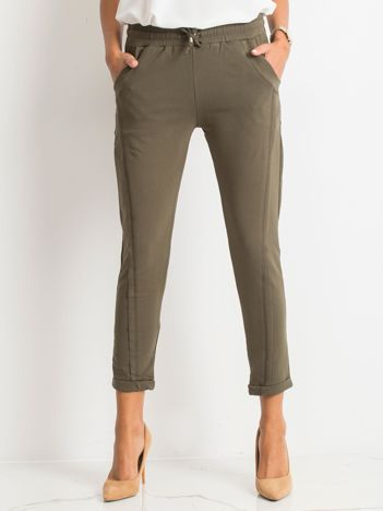 Khaki spodnie Approachable