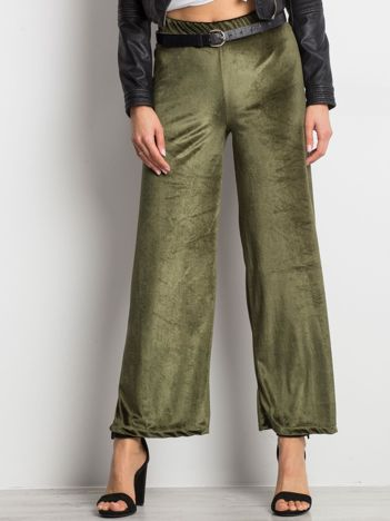 Khaki spodnie Entire