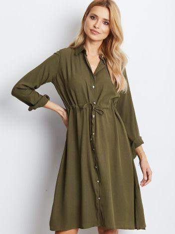 Khaki sukienka Ambrosia