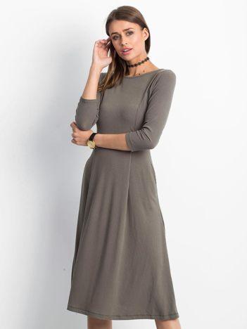 Khaki sukienka Everywhere