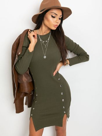 Khaki sukienka Fabulous