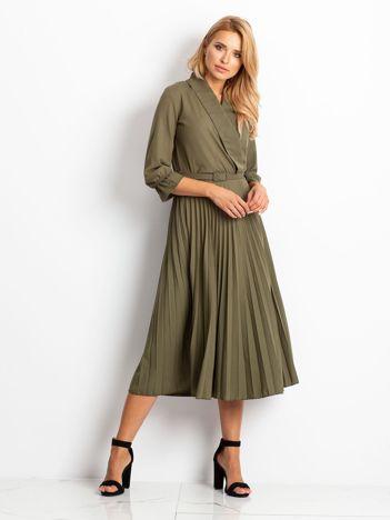 Khaki sukienka Hope