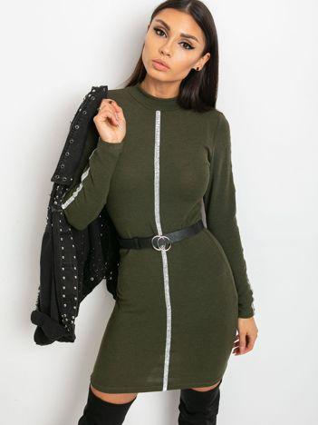 Khaki sukienka Monique