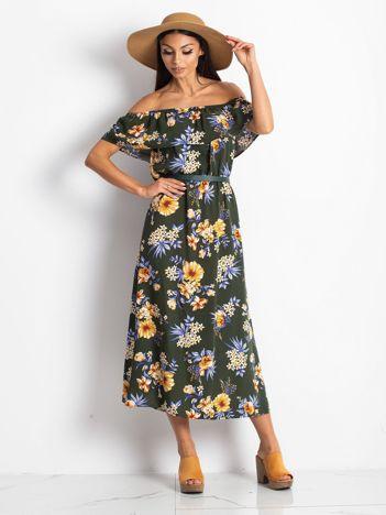 Khaki sukienka Perennial