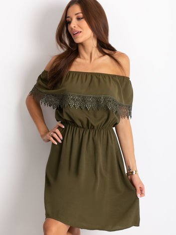 Khaki sukienka Serenity