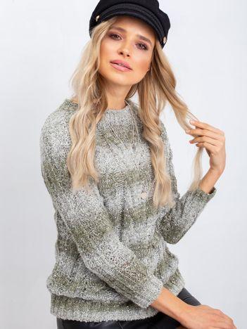Khaki sweter Amelia