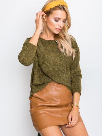 Khaki sweter Dolce