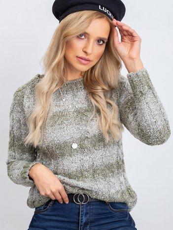 Khaki sweter Tracey