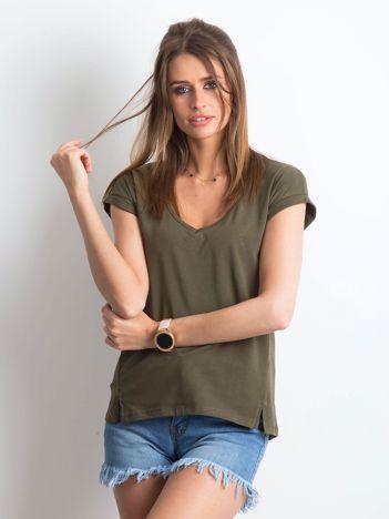Khaki t-shirt Vibes