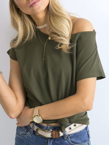 Khaki t-shirt basic