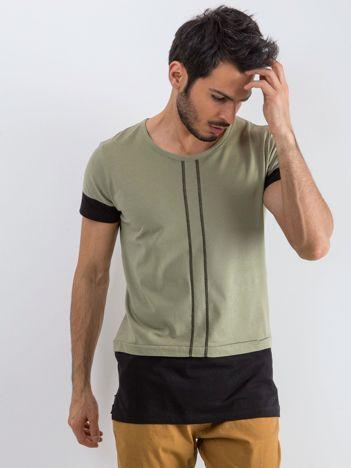 Khaki t-shirt męski Narcos