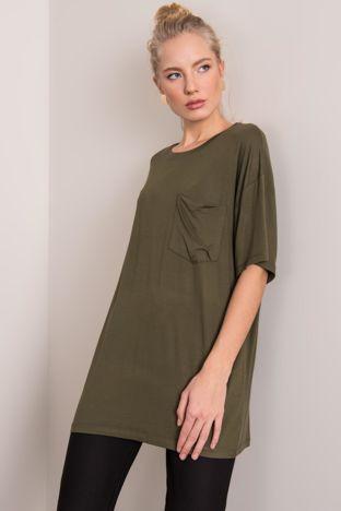 Khaki t-shirt oversize BSL