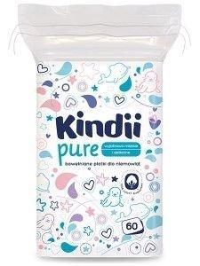 Kindii Pure (Baby Sensitive) Płatki kosmetyczne 60 szt.